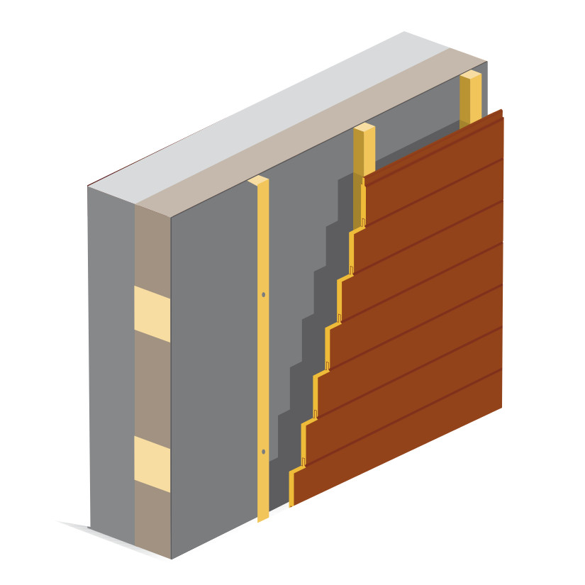 Type de bardage bois exterieur for Bois construction exterieur