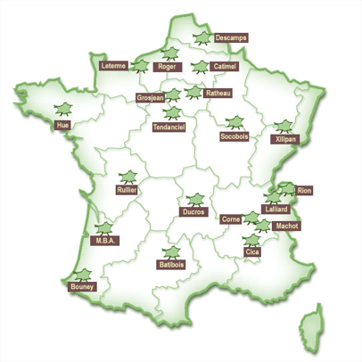 Carte groupement Nebopan