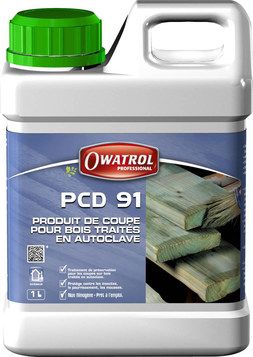 Produit de coupe pour bois traités en autoclave PCD 91 vert - bidon de 1 litre