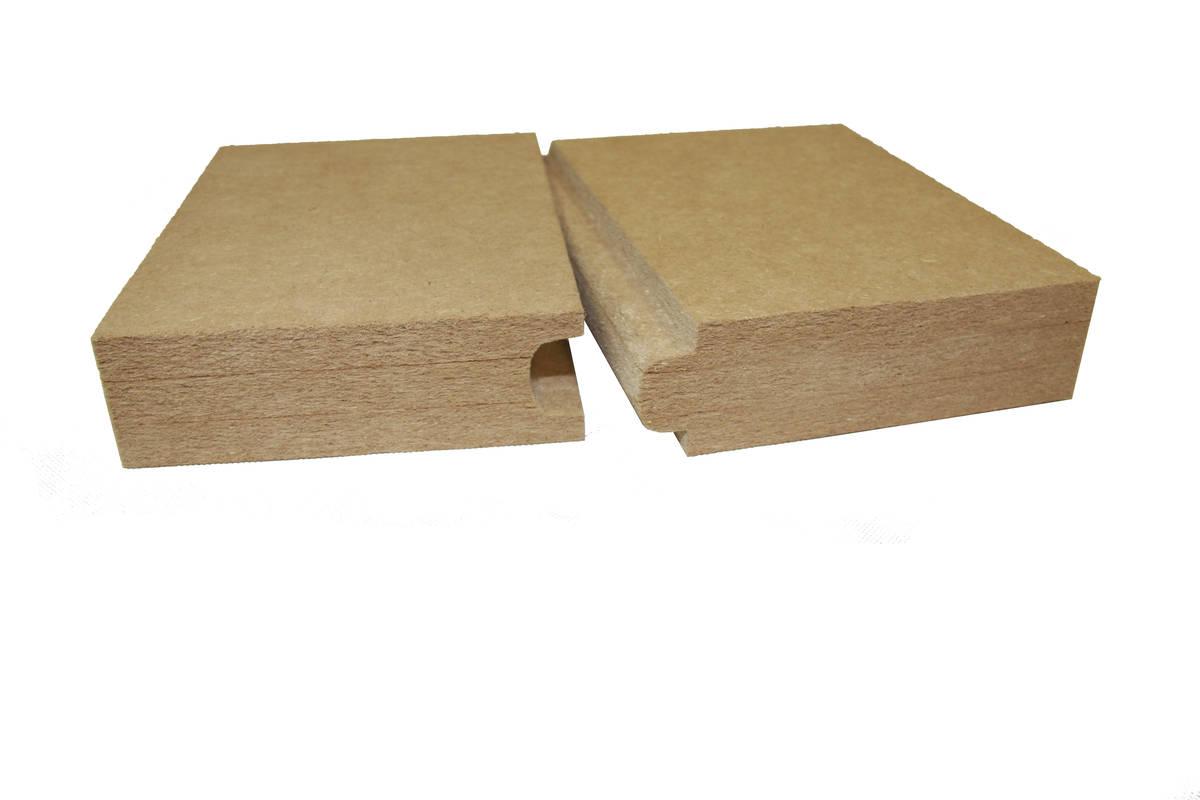 Panneau  / pare-pluie ouvert à la diffusion ISOLAIR - 2500x770x35 mm