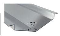 Noue autoporteuse zinc naturel dev500 - lg 2.00ml