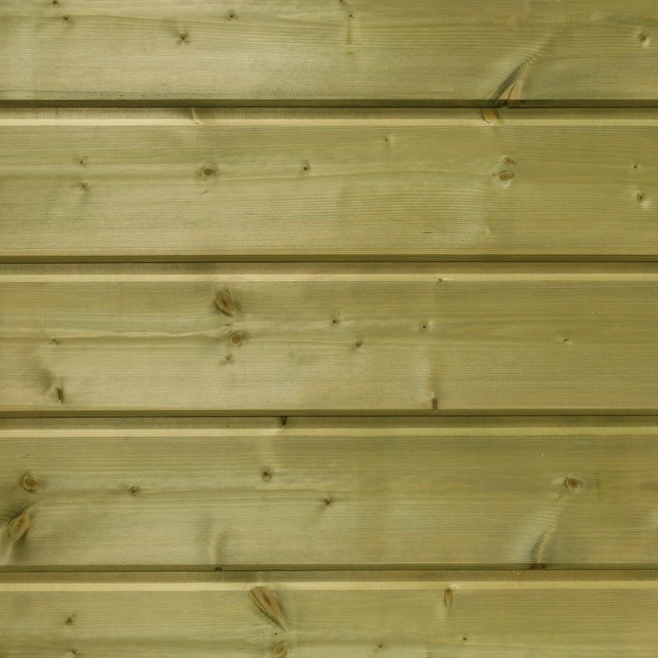 Bardage en pin sylvestre rabovert hydrofugés sec 18% - 21x132mm