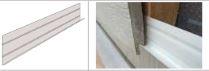CANEXEL Accessoire Bardage Bande de départ 3.00ml aluminium blanc