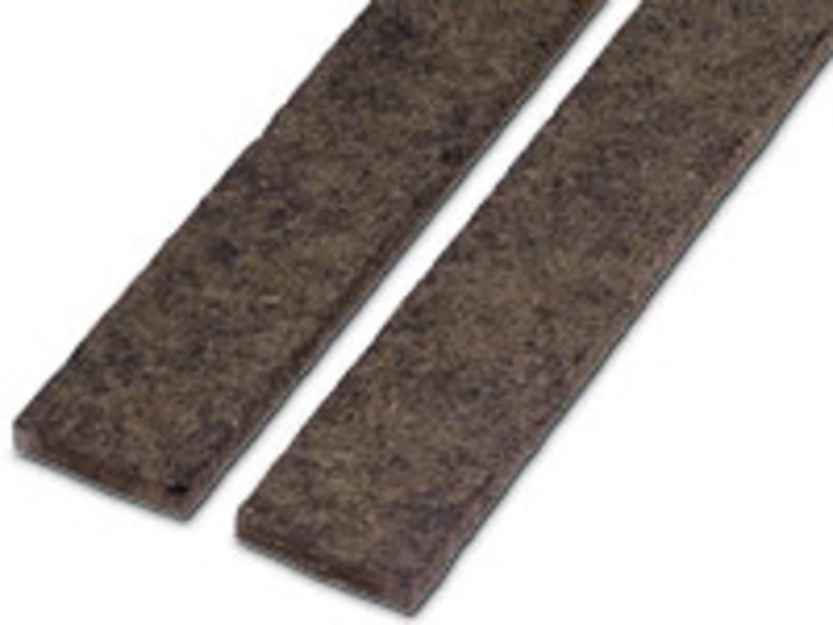 Bande résiliente pour cloisons et planchers PHALTEX 48x10 long. 1.20 m