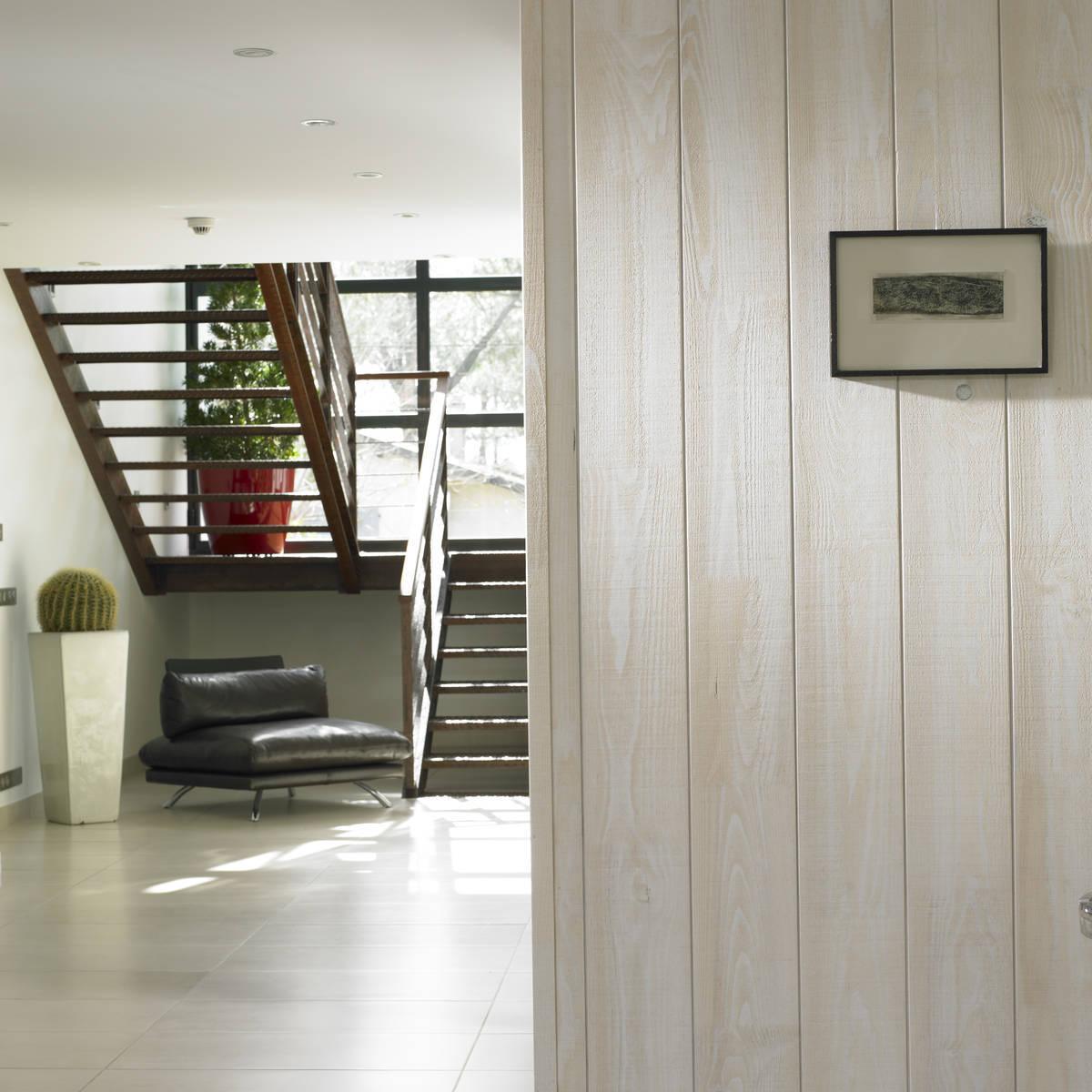 Lambris mba bois et construction durable for Application deco interieur