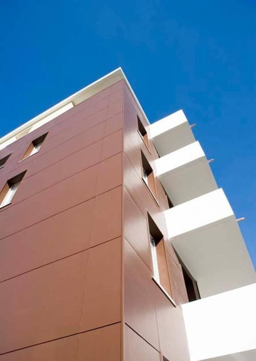 Panneau de façade en fibre ciment hardiepanel (3050x1220x8) Smooth  ~ Panneau Bois Ciment