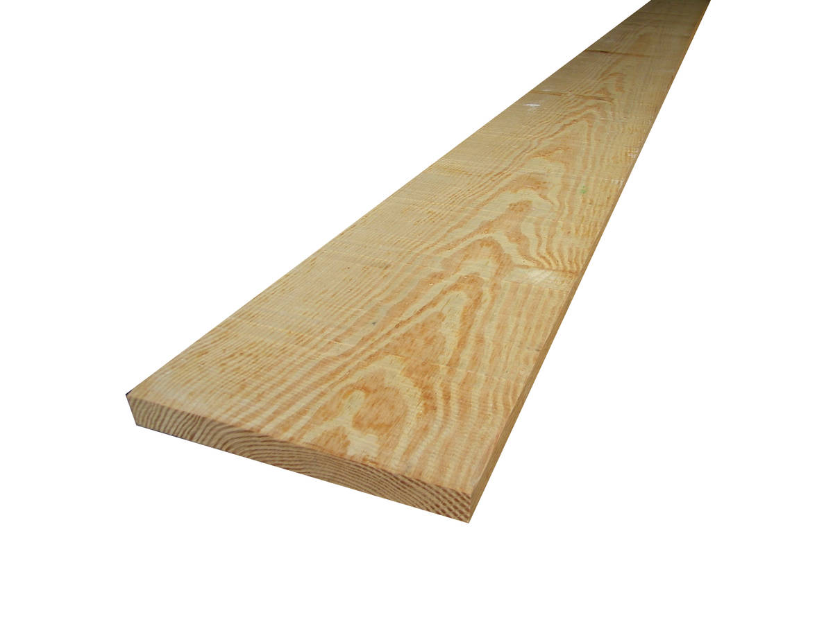 Bois massif en Pin de caroline - yellow pine 34x305mm