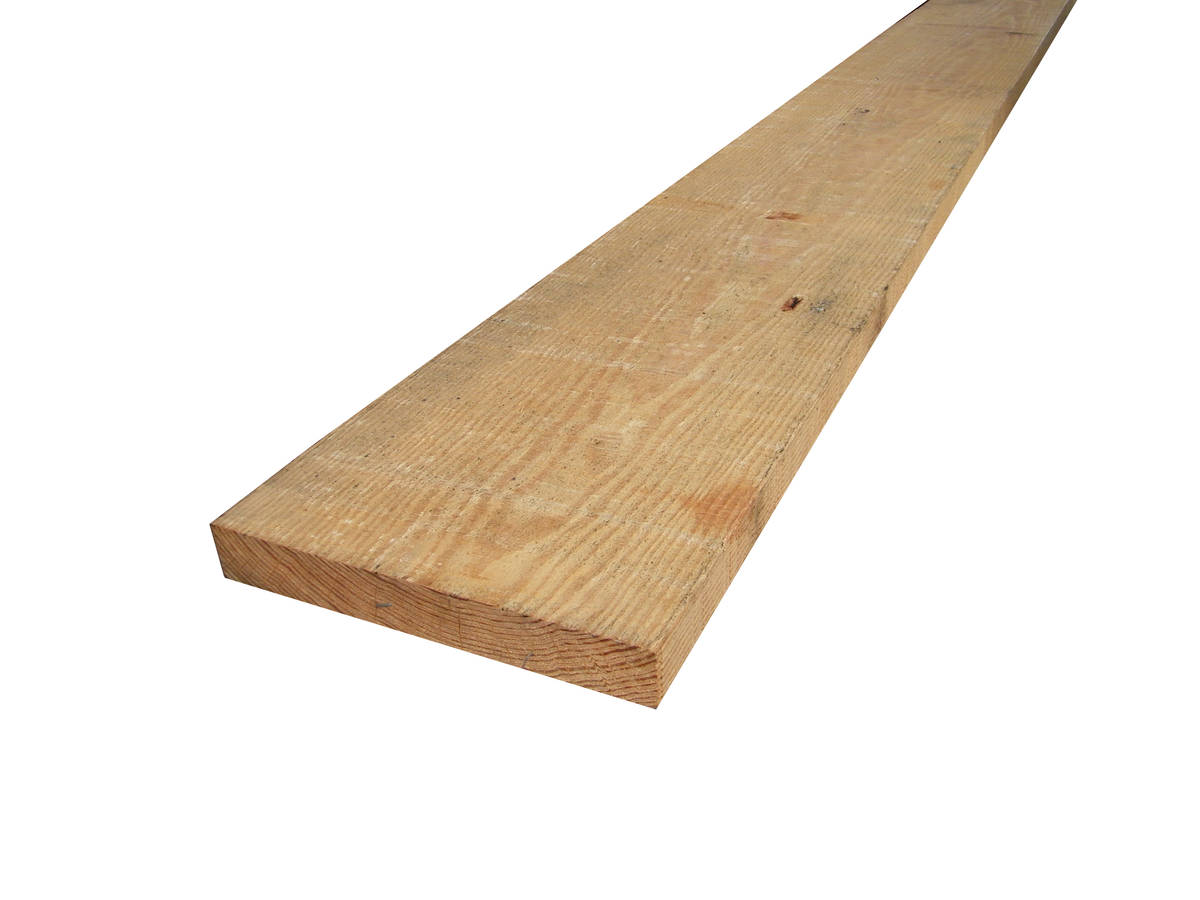 Bois massif en Pin de caroline - yellow pine 43x305mm