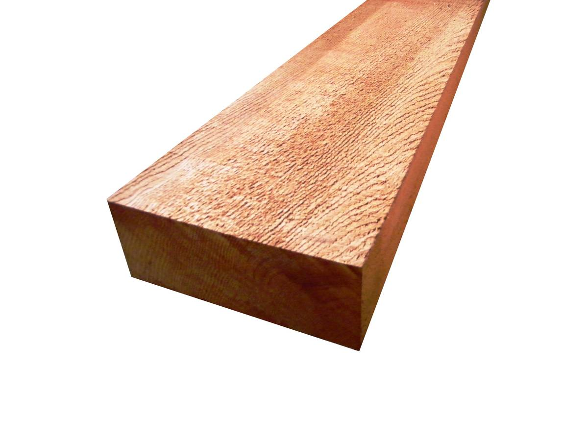 Bois massif en Red Cedar clear 2 - 105x255mm