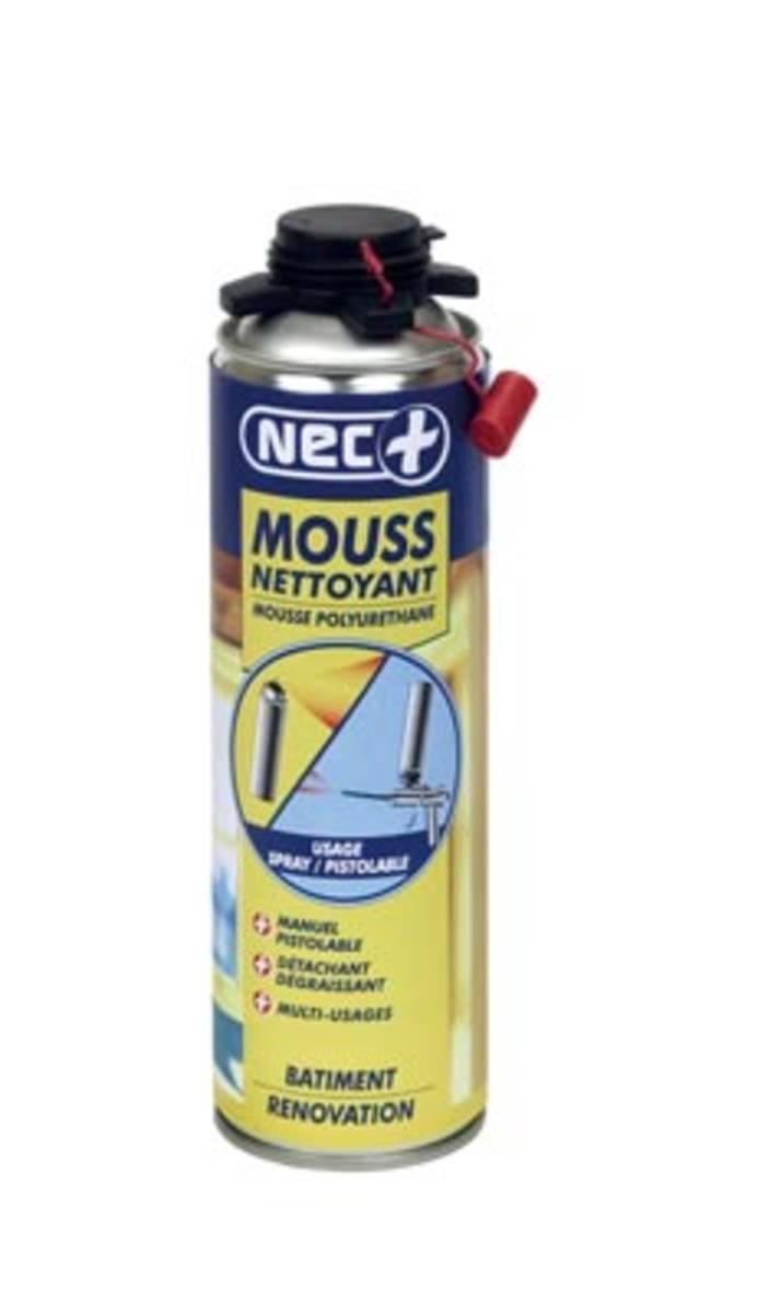 nettoyant mousses expansives incolore - NEC+ MOUSSE NETTOYANT PU incolore-a. 500 ml
