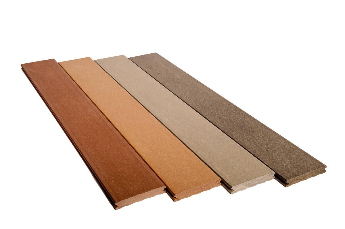 lame de terrasse en bois composite elegance lisse silvadec gris anthracite 138x23x4000mm. Black Bedroom Furniture Sets. Home Design Ideas