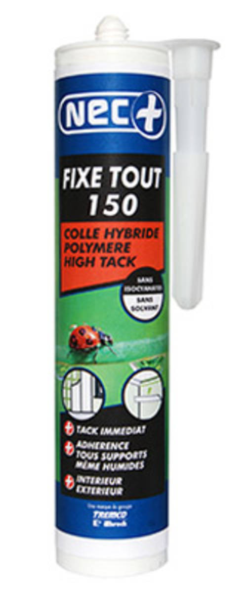 Colle-mastic - NEC+ - FIXE TOUT 350 HIGH TACK - 310 ml
