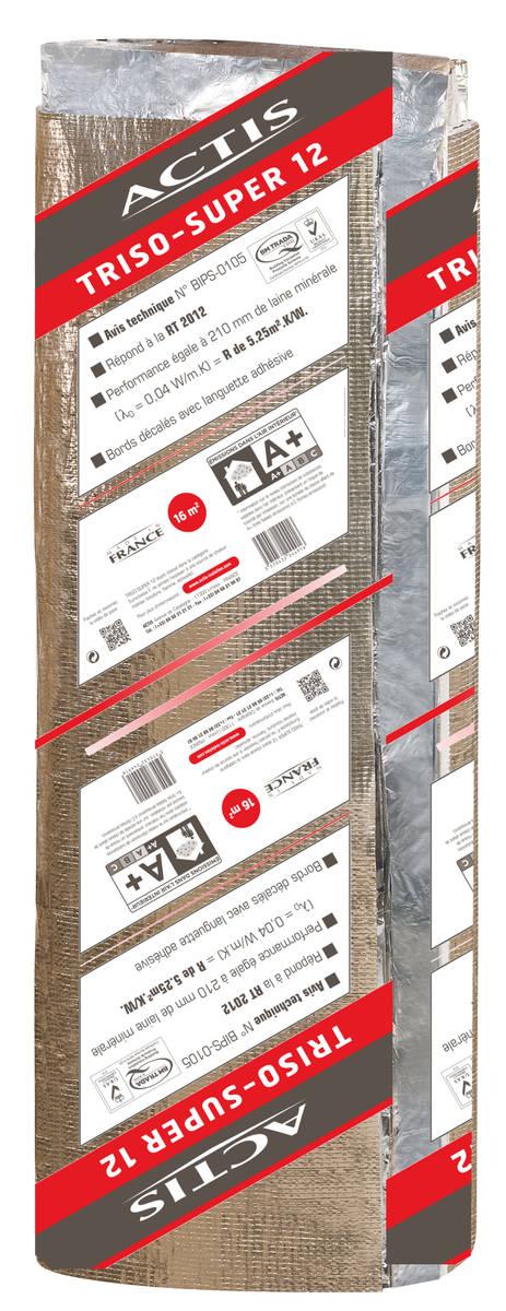 Isolant mince r flecteur triso super 12 larg 1 60m mba bois et construction durable - Isolant mince avis ...