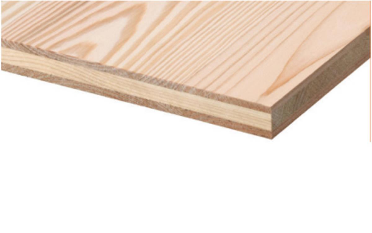 Panneaux 3 plis douglas 5000x2050x19 b c mba bois et - Panneau 3 plis ...