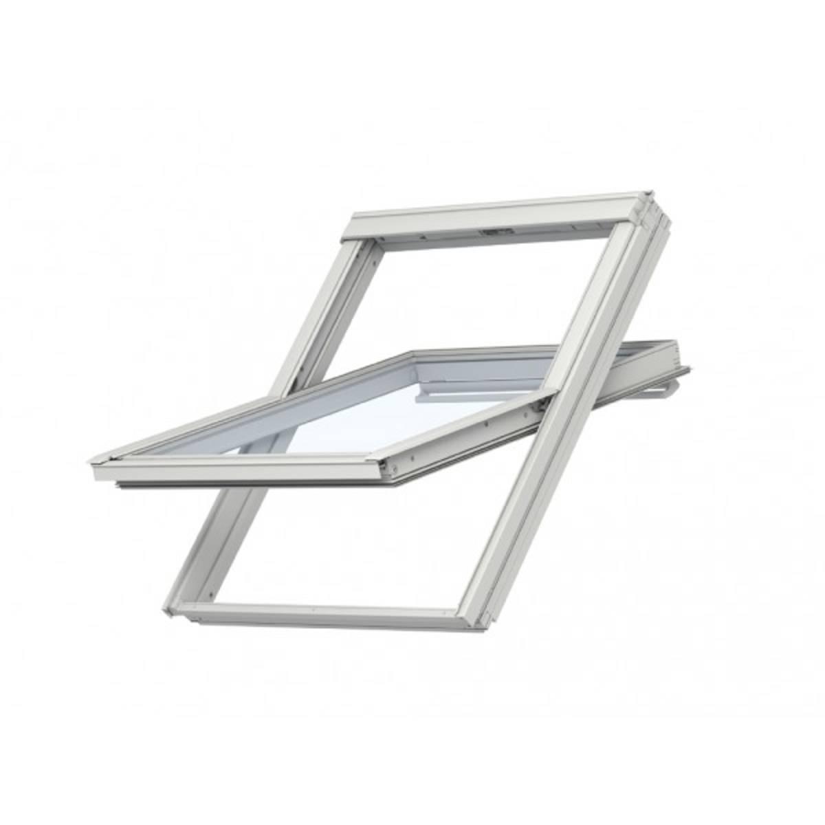 Fenêtre à rotation Confort (finition bois) UK08 134x140 cm - GGL 3076