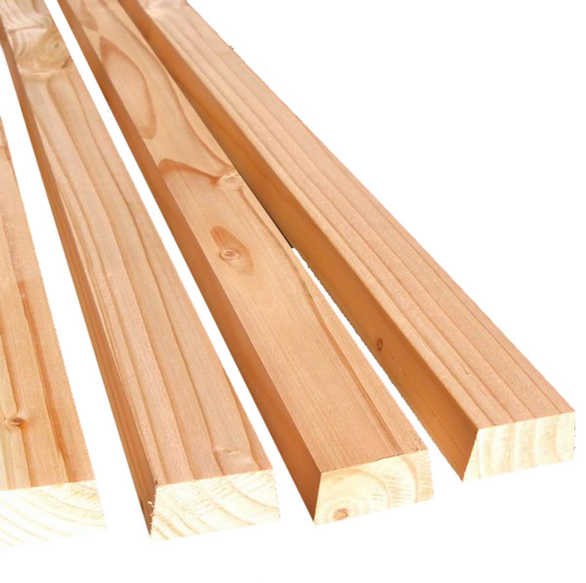 Bardage Bois Claire Voie : Bardage claire voie en Douglas 27×68 – MBA : Bois et construction
