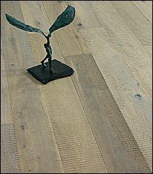 PARQUET CONTRECOLLE CHENE LOFT PRIMO COULEUR CAP FERRET SCIAGE FUME HUILE BLANC 15 x 189 mm R/L