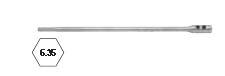REF 906 - RALLONGE MECHE BOIS PLATE L370MM (1 PIÈCE)
