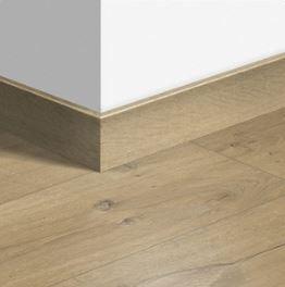 Accessoire sol stratifié - Quick Step - Plinthe Parquet 77x14x2400mm