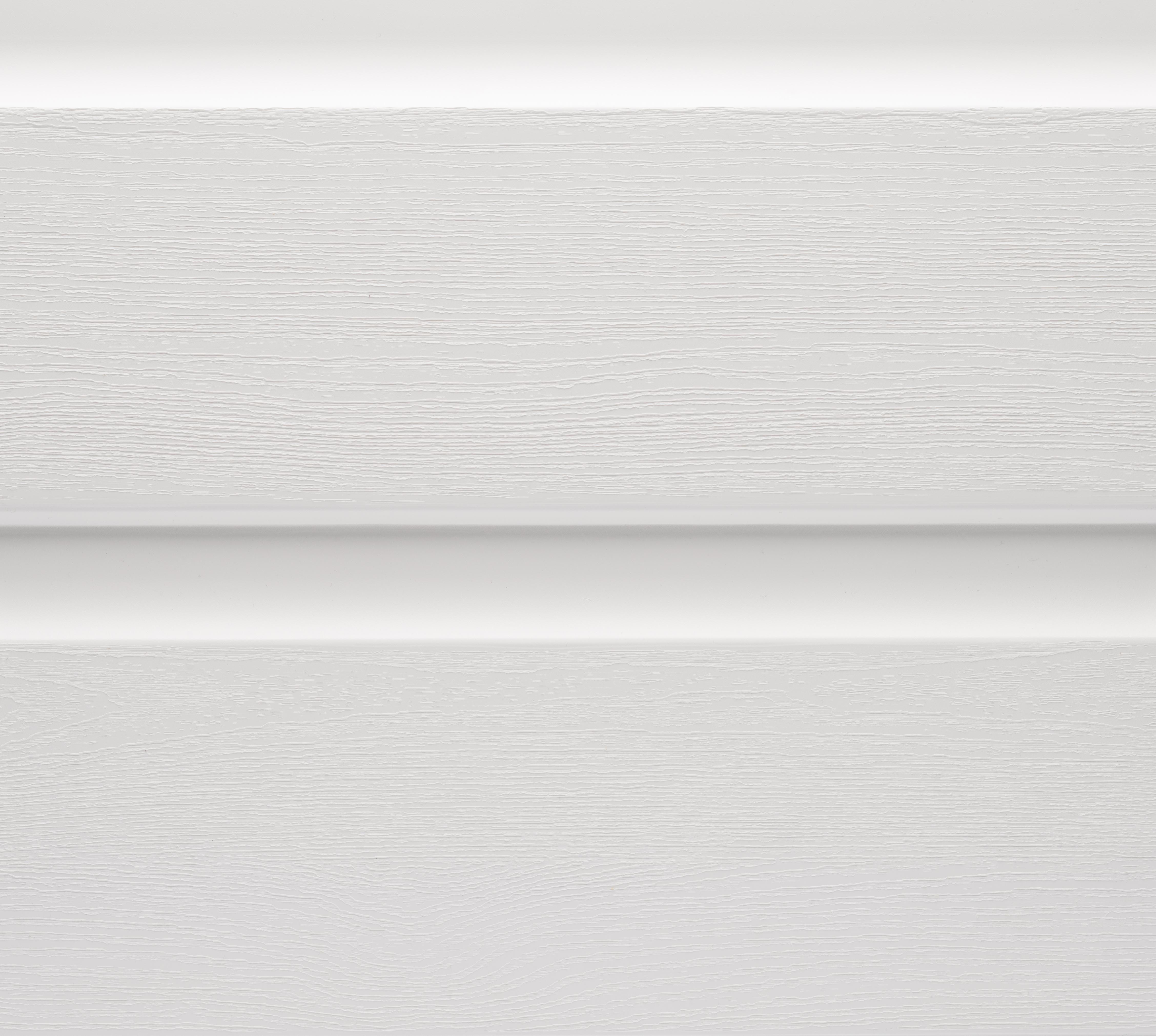 AIGIS Bardage thermoplastique renforcé de fibres de verre 7x300x4200mm double lame Coloris Clair