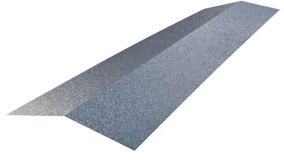 Faitière tuile R Pro en polyester 45µm. Longueur : 100 cm. 2 pans de 14,5 cm