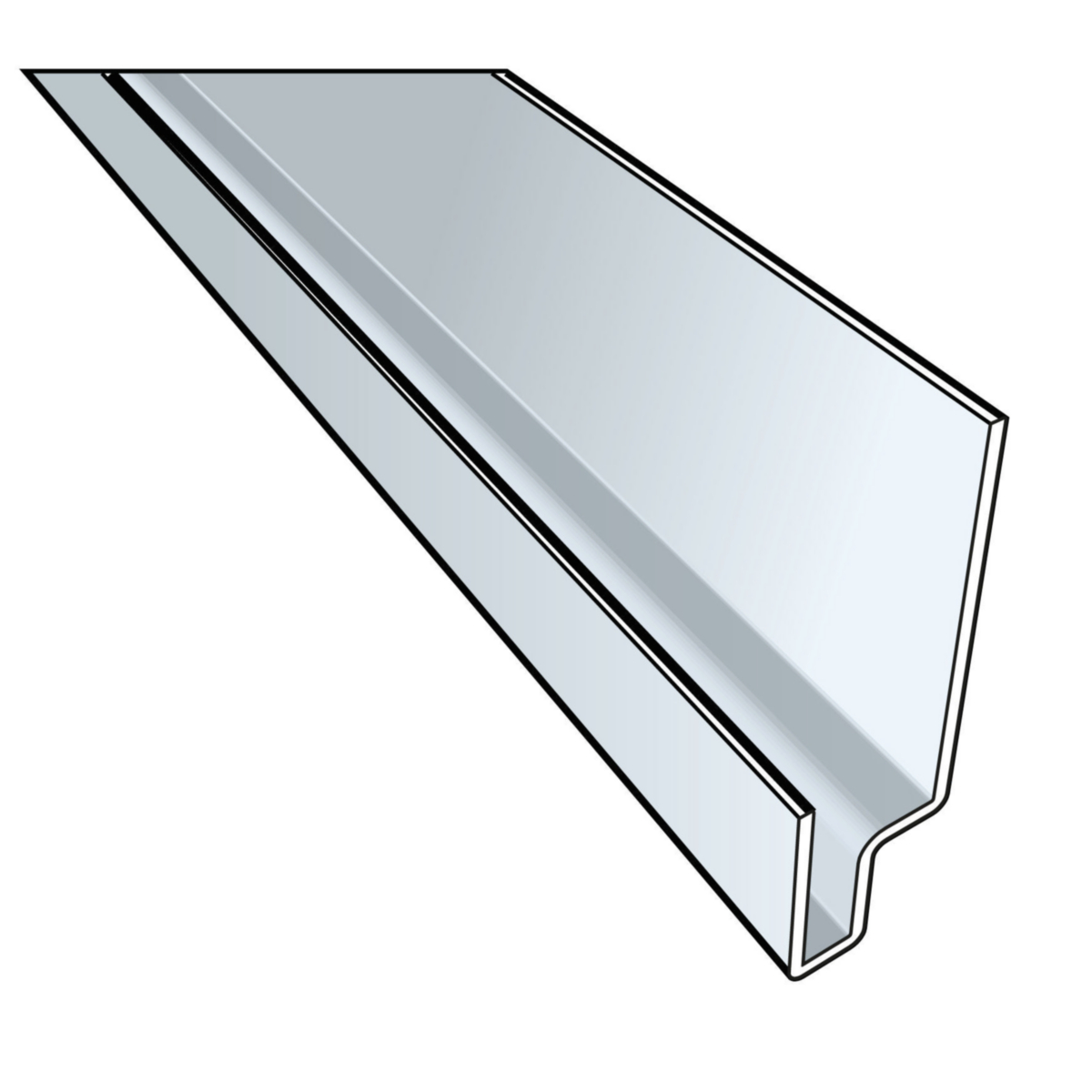 Accessoire clin cedral profil linteau de fenètre click alu coloré 3ml