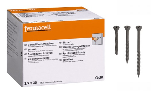 Vis autopreceuses Fermacell 3.9x30 mm