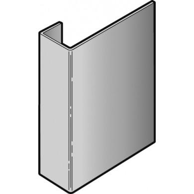 Accessoire clin cedral lap profil de raccord alu coloré -  3.00ml - coloris c1 à c10 -  réf 21