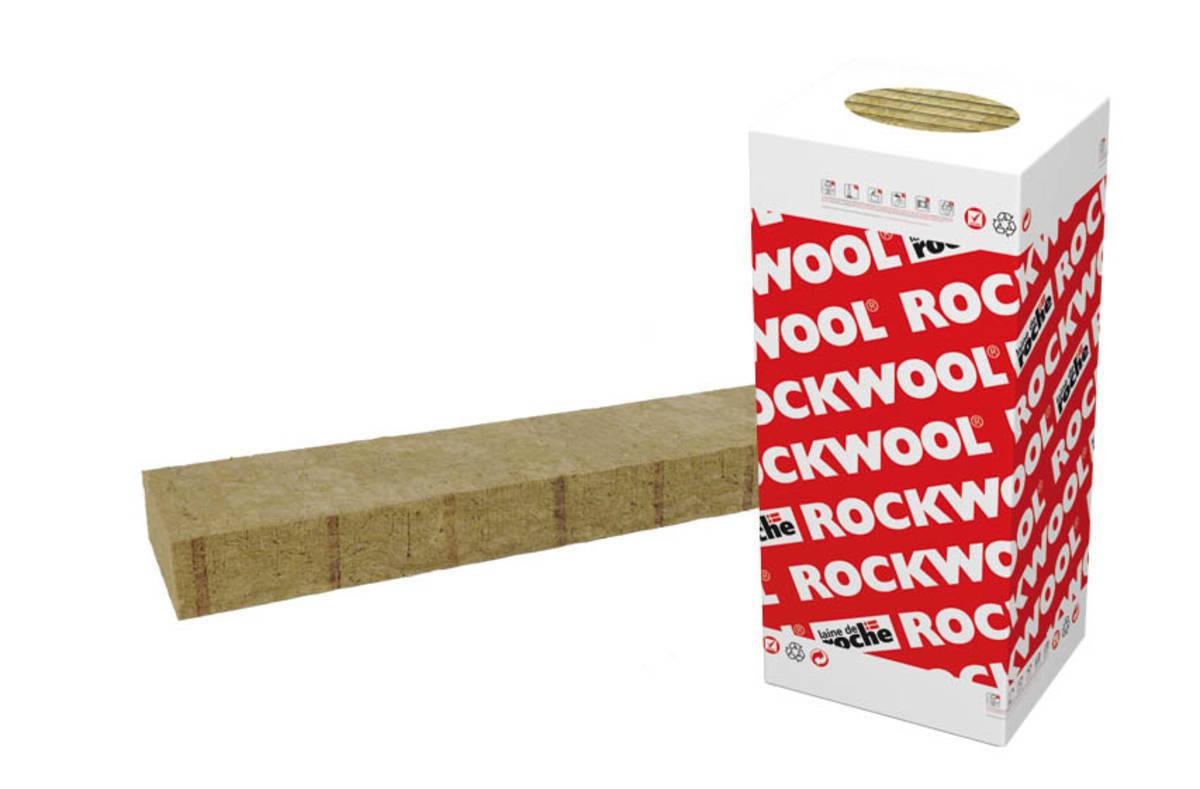 Panneau de laine de roche MBROCK 565 1350 x 565 x 200 colis de 2,29 m2