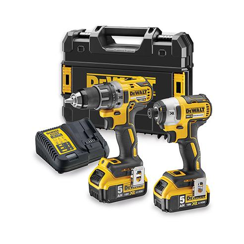 Kit 2 outils XR 18V 5AH Li-Ion BL